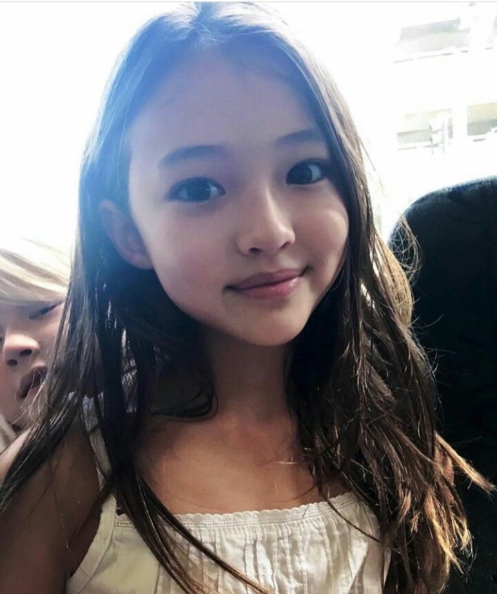 Young asian teen models