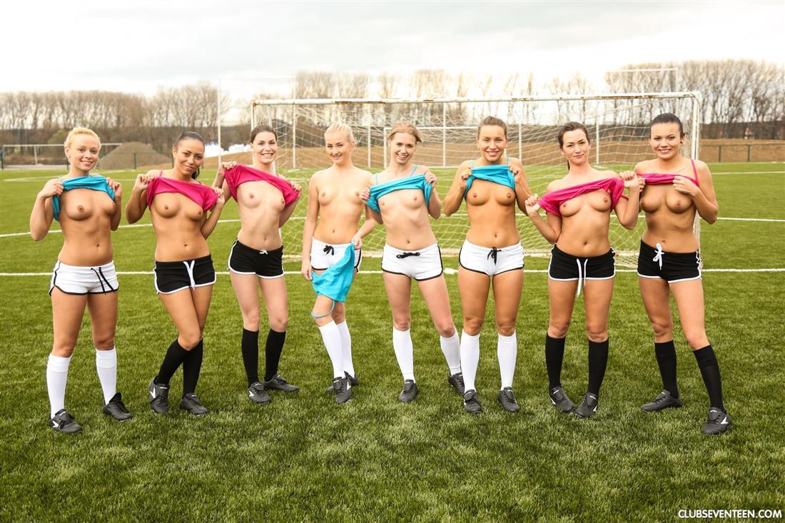 Girls soccer team porn