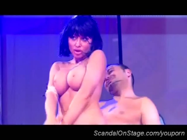Xxx on stage sex