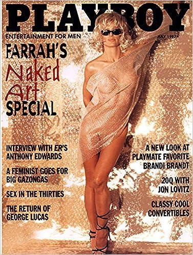 Farrah fawcett playboy gold