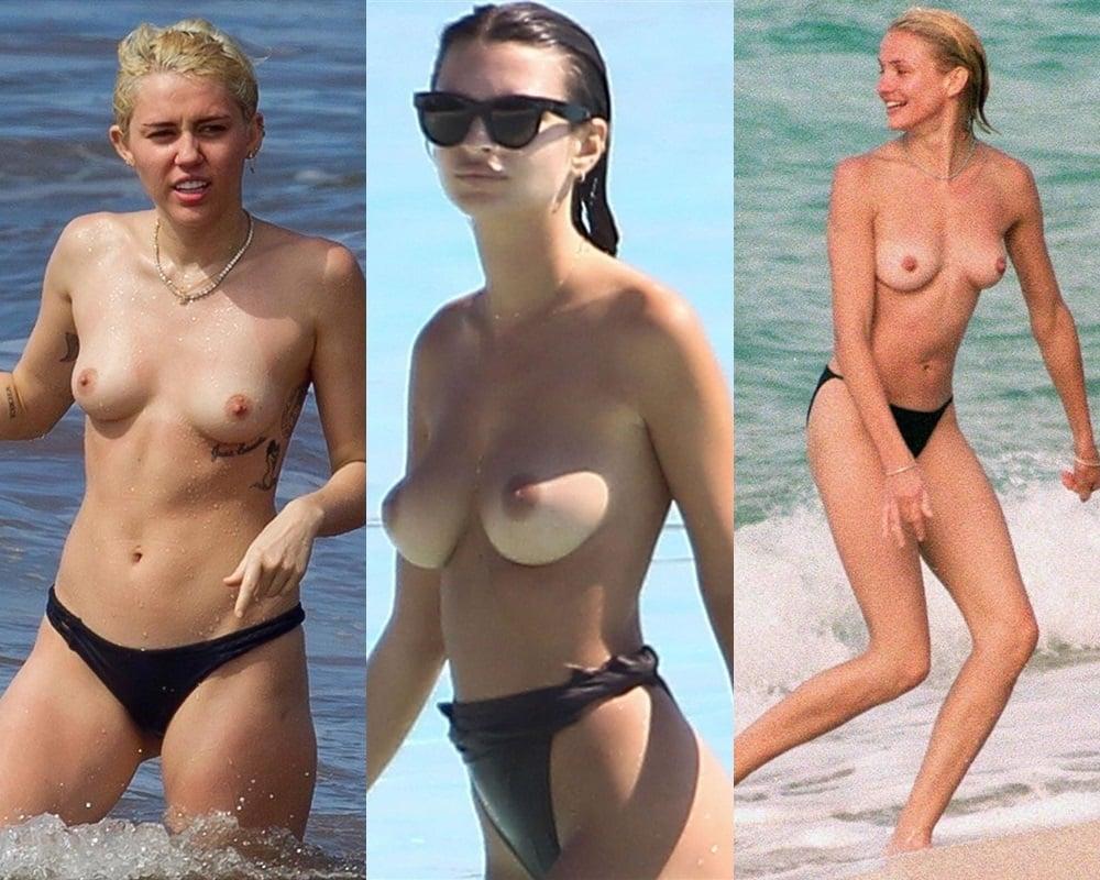 Beach nude pics pussy celebs