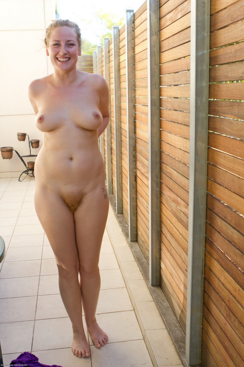 Hairy nude women dared