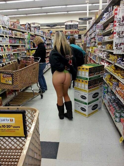 Naked people at walmart