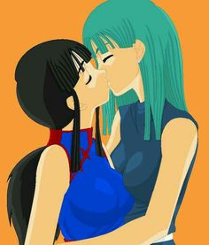 Videl chichi lesbien kiss