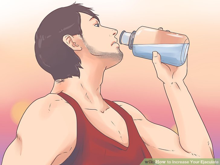 How to have huge a cumshot