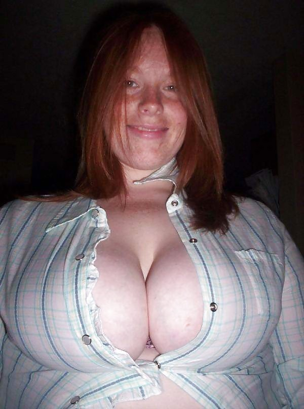 Downblouse mature cleavage freckles