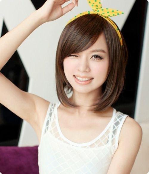 Hairstyles short girls asian