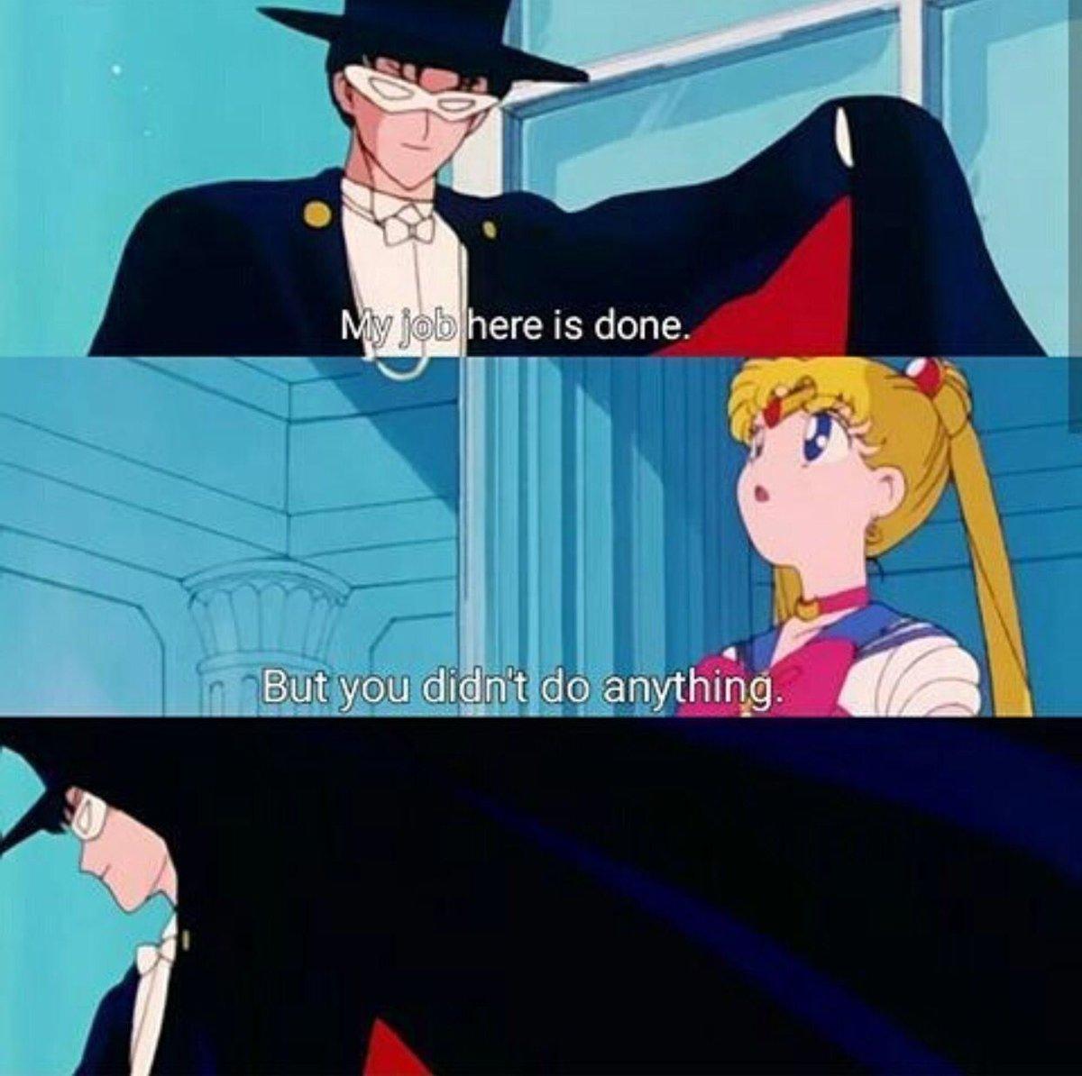 Sailor moon tuxedo mask porn