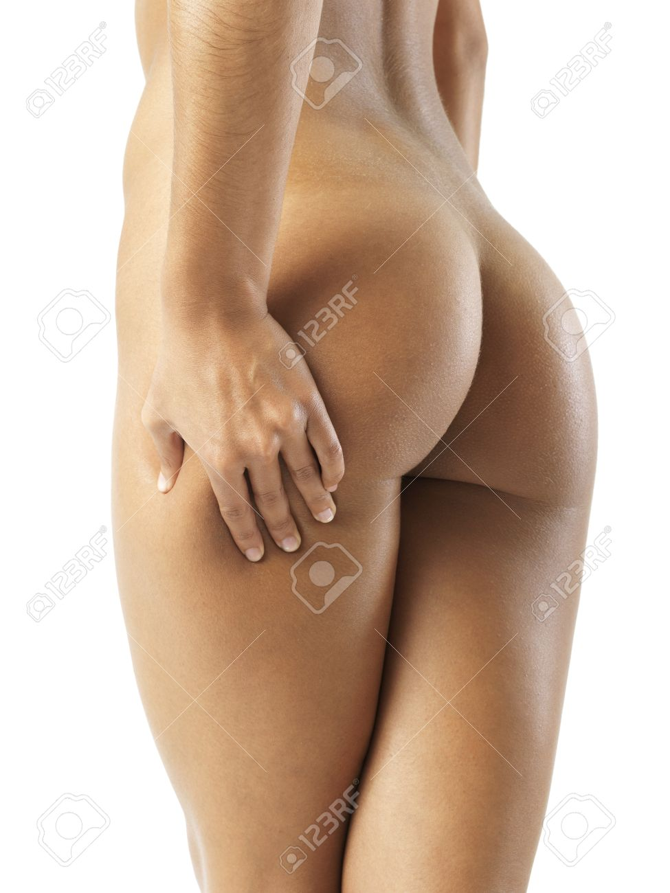 Sexy fit naked ass