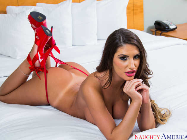 August ames full naked picture