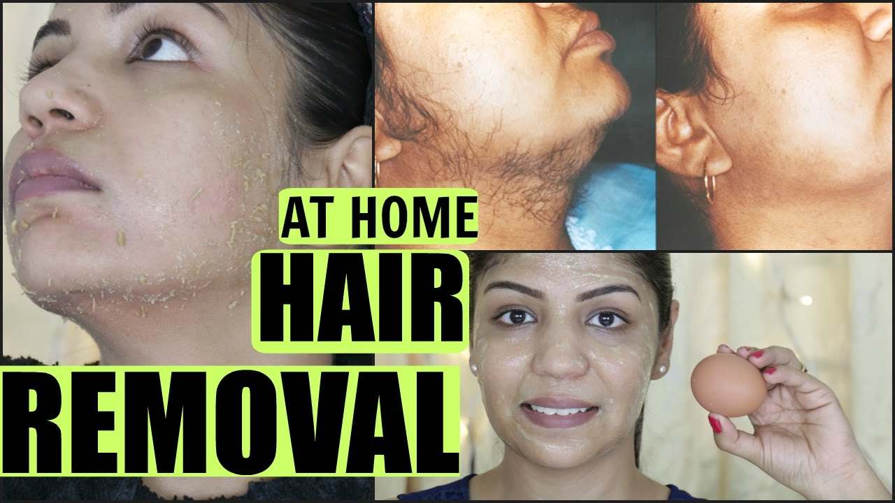 Permanently remove unwanted facial hair