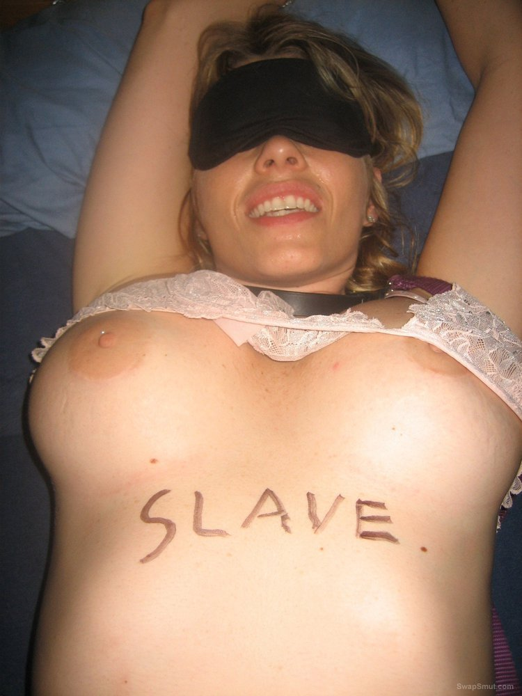 Bondage sex slave tied up