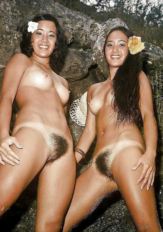 Hawaiian hairy pussy porn