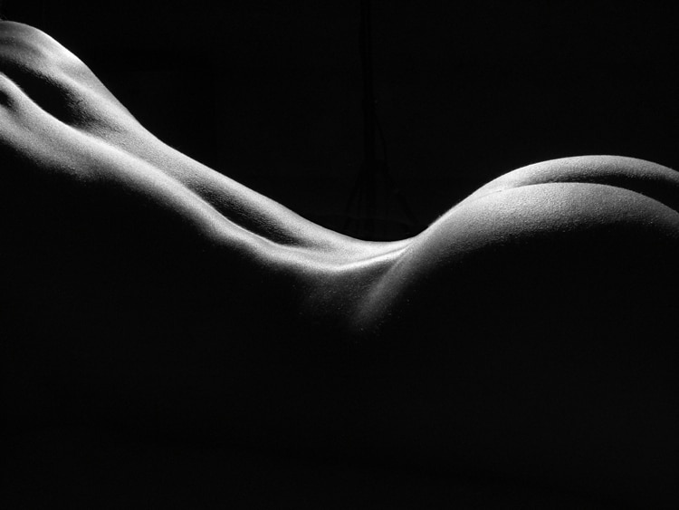 Fine art black and white nudes women