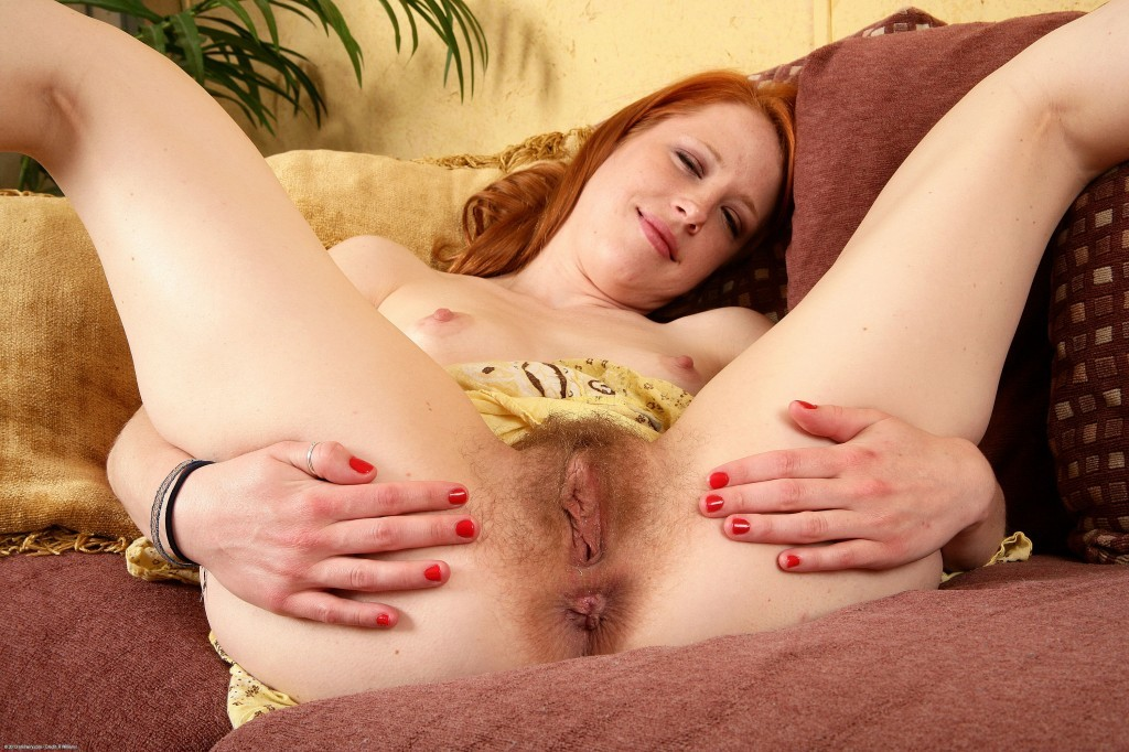 Atk natural and hairy ginger babe