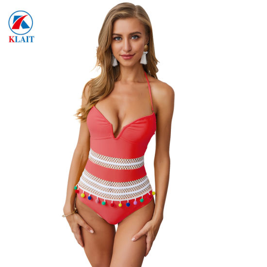 Young girl in micro bikini