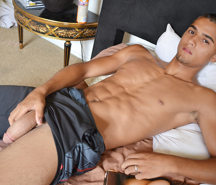 Beautiful hispanic cocks working