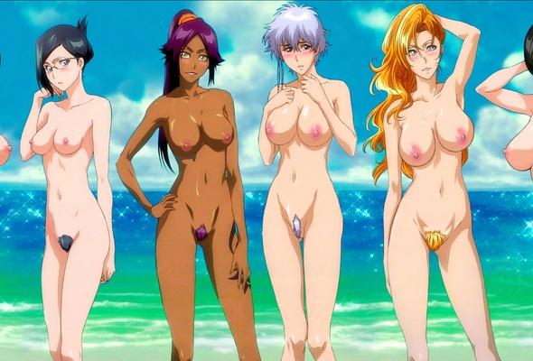 Bleach all together xxx