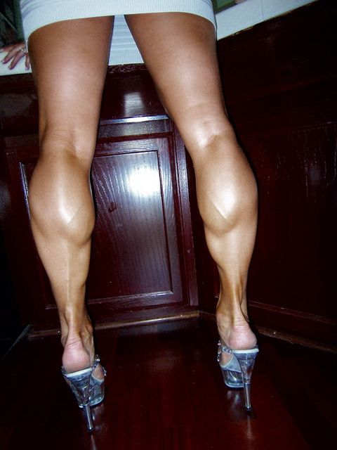 Sexy calves turn on