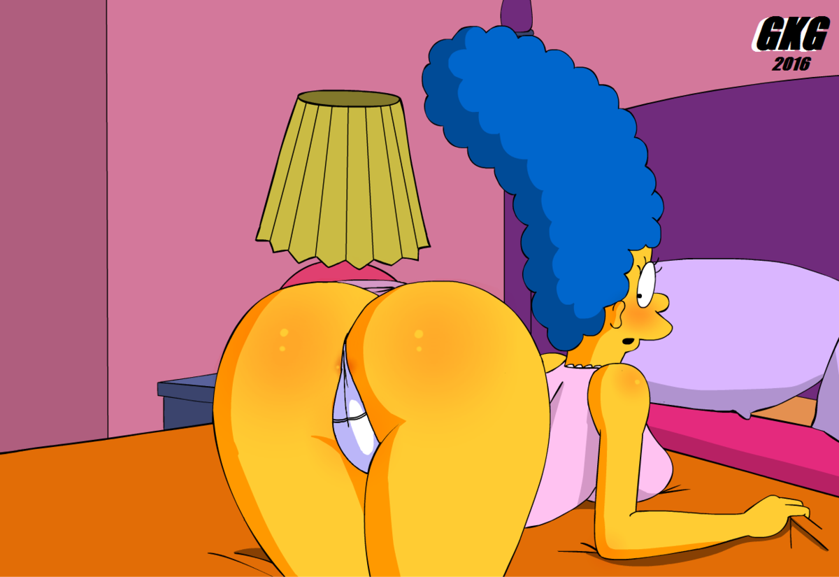 Bart and marge simpson hentai