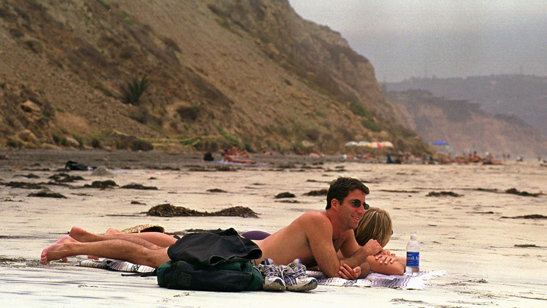 Mexican beach family naked