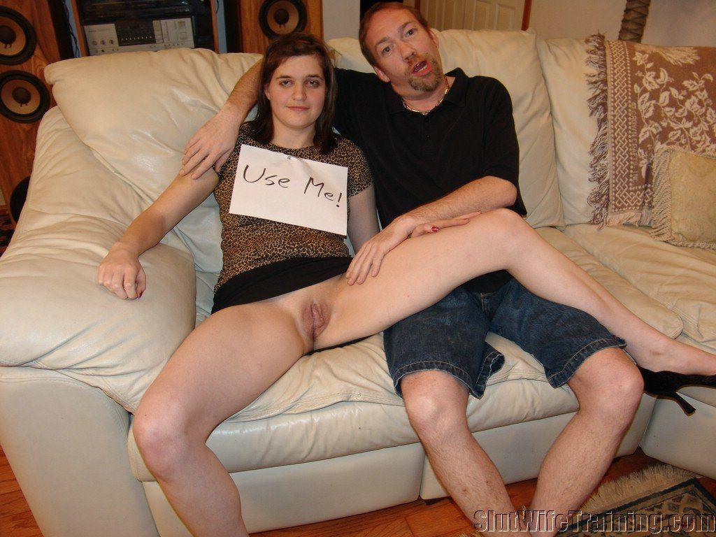 Training slut wife sex fantasy