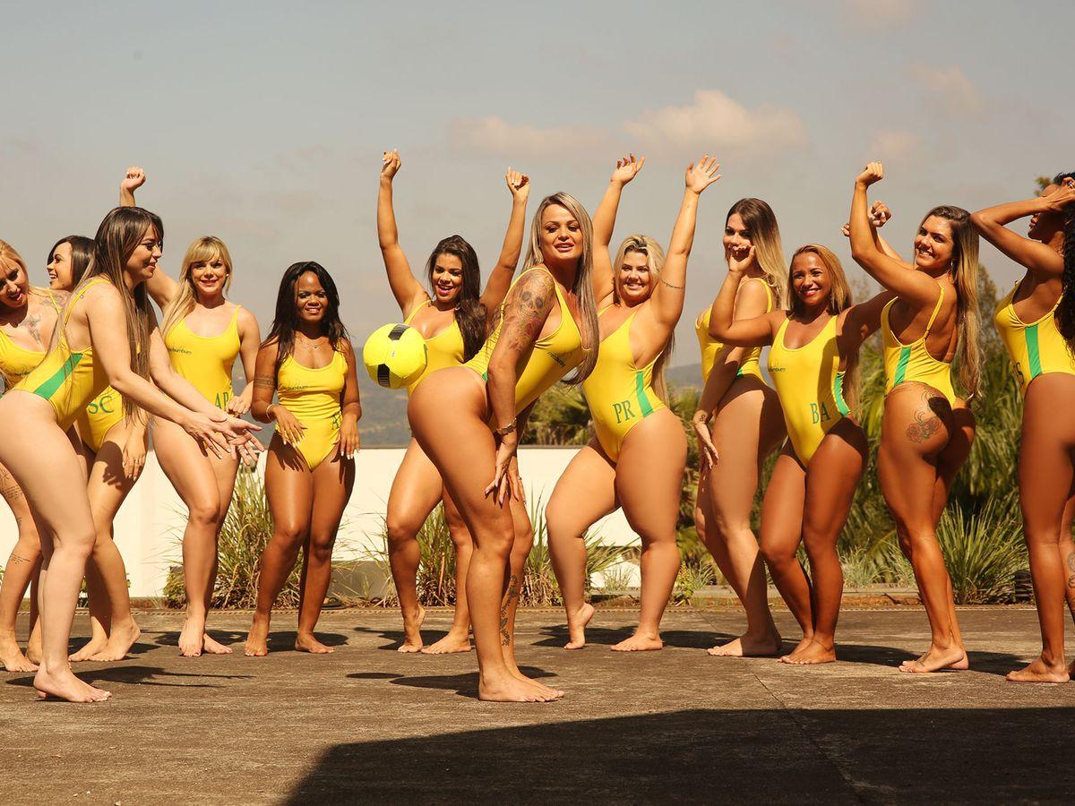 Nude nudist girls pageant
