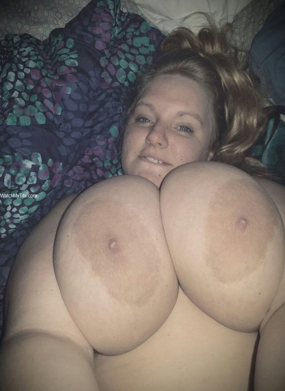My big saggy tits selfie