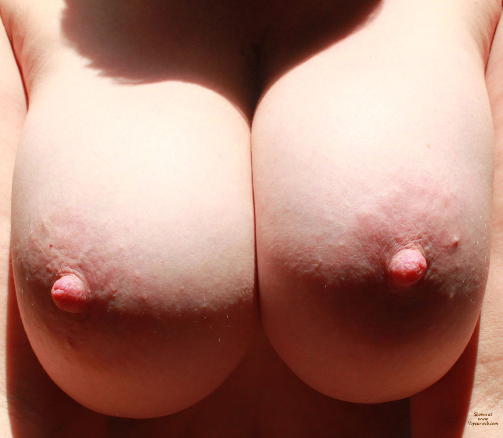 Amateur tits close up