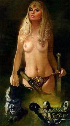 Woman nude fantasy art gallery