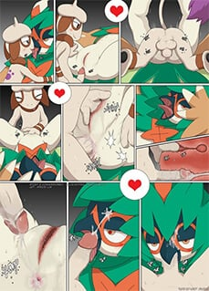 Pokemon ash and dawn porn comics