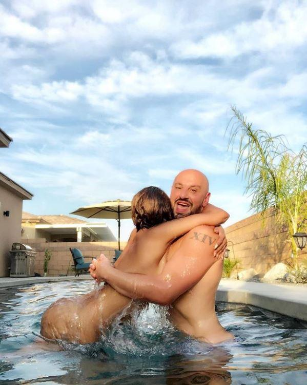 Nude pool group sex