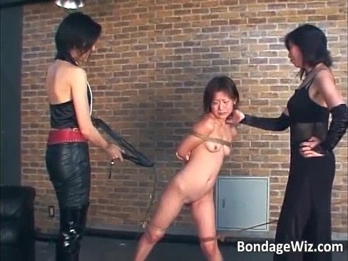 Hot asian slut bondage