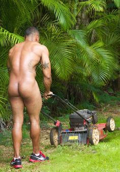 Naked men in yard photos