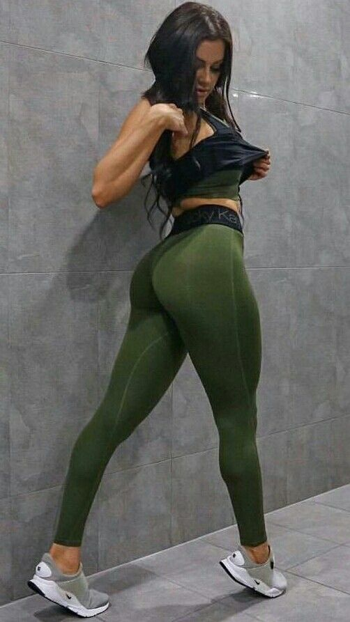 Tight spandex wearing skin girls