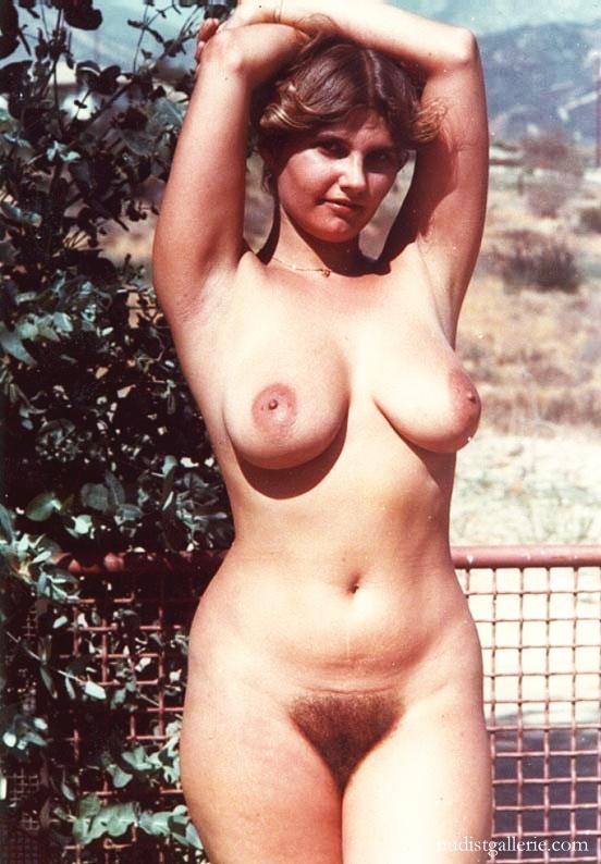 Mature hairy nudist vintage