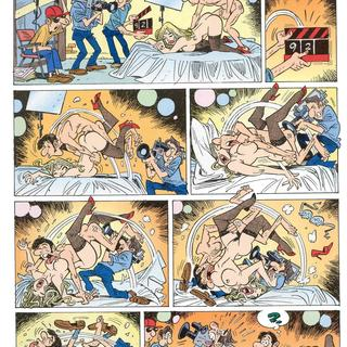 Free adult comic strip