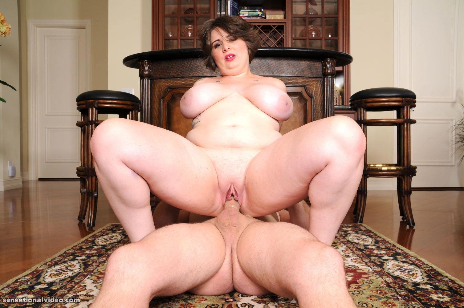 Bbw violet addams anal