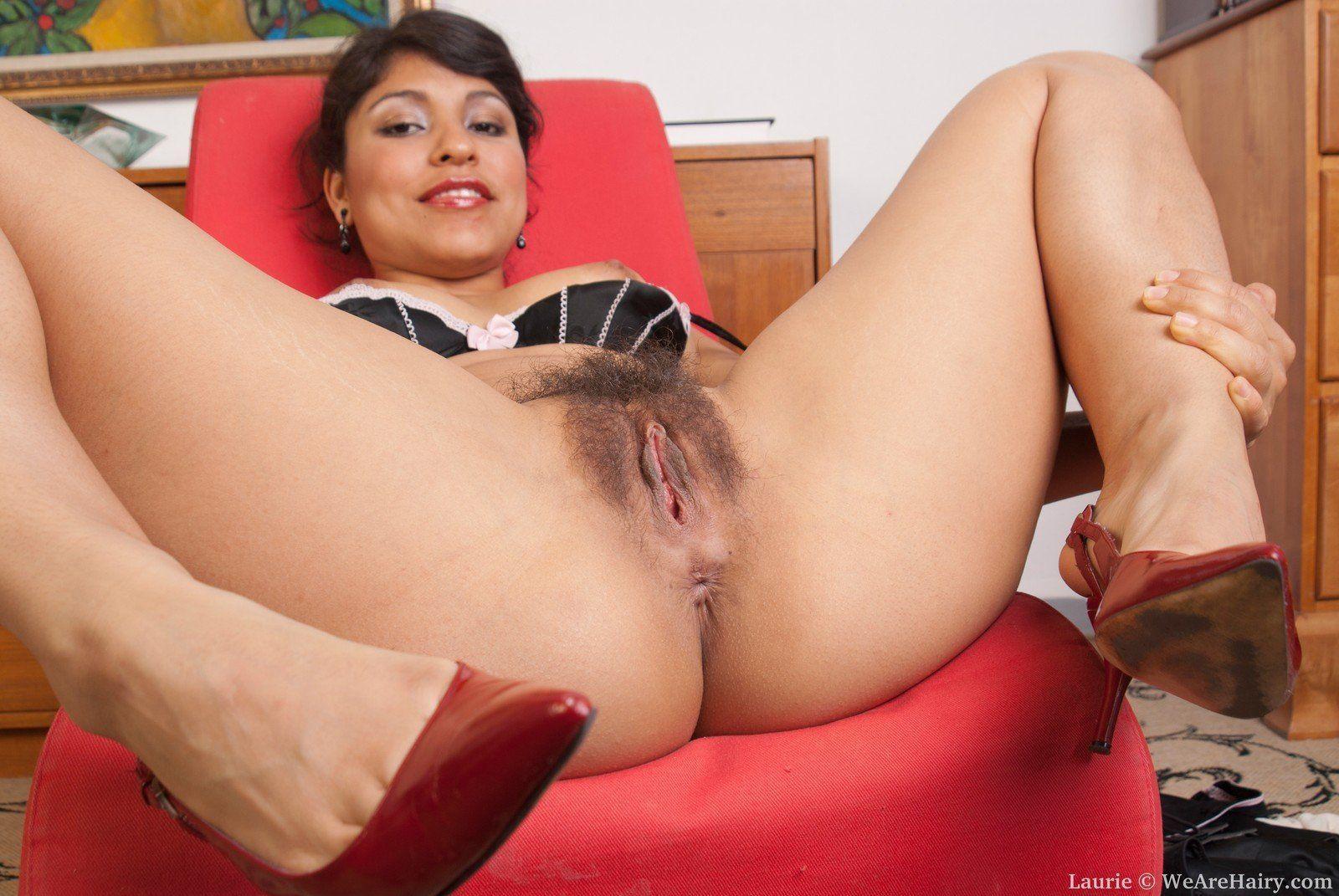 Latina liza hairy pussy