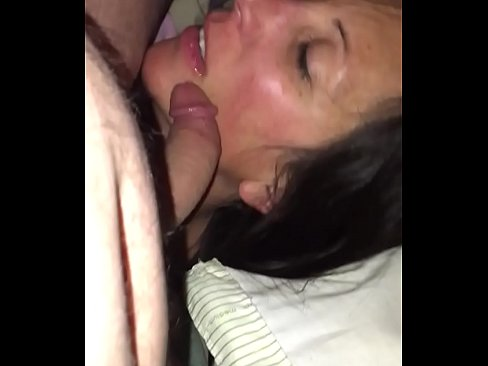 Wife sucking strangers cock at the bar