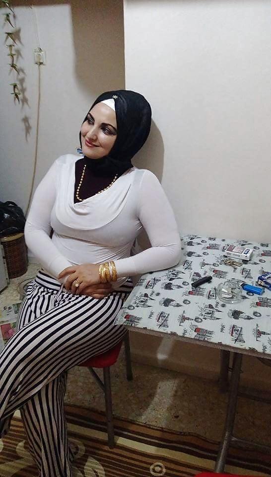 Tight hot hijab milf