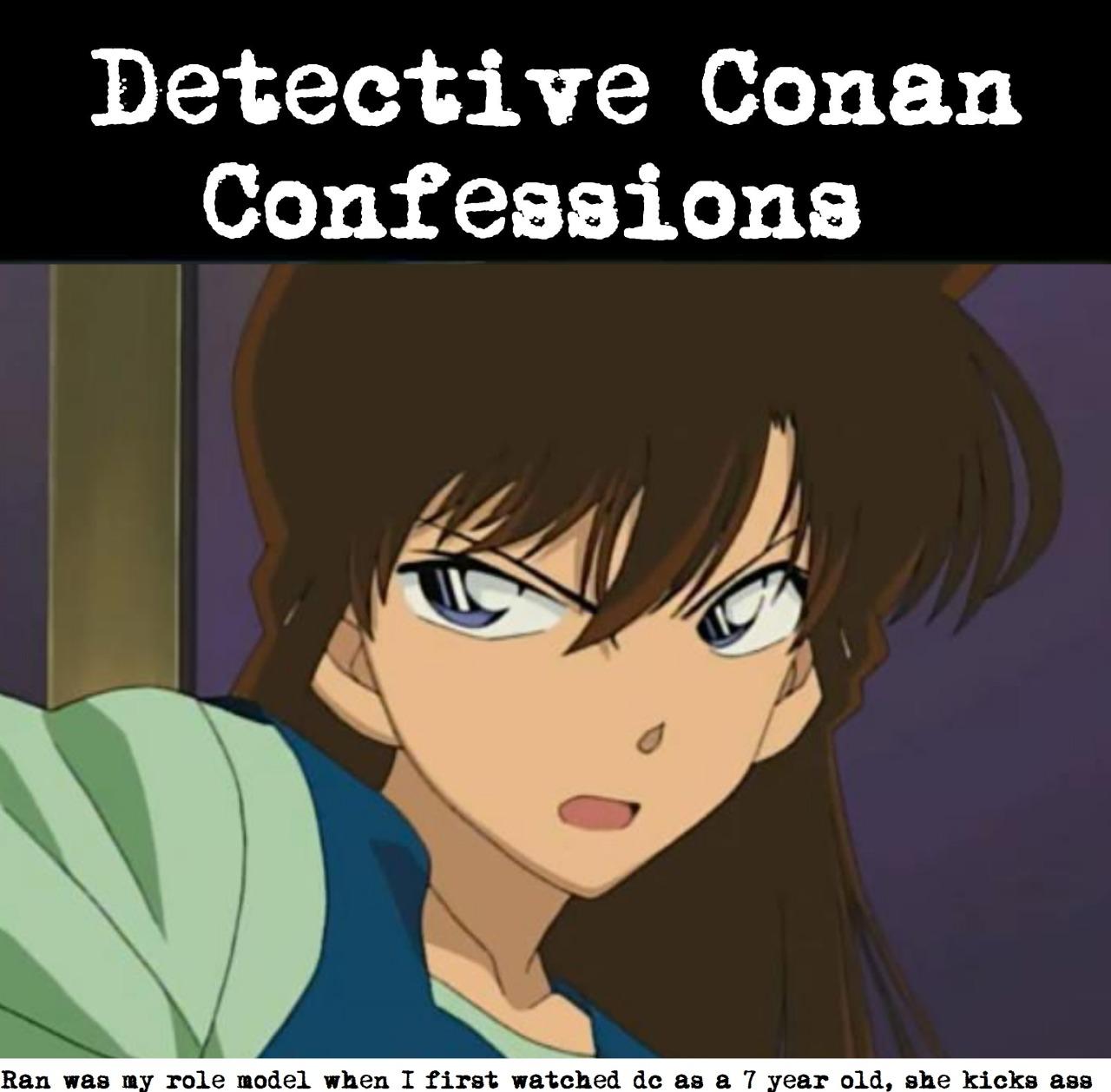 Detective conan ran ass