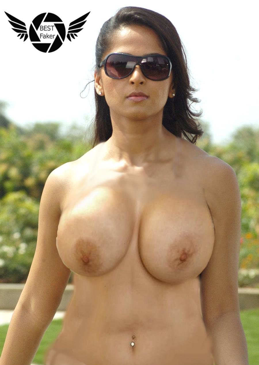 Anushka shethy nangi big boobe