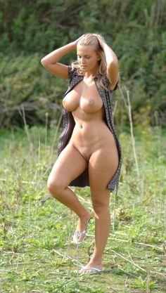 Natural nude women nature