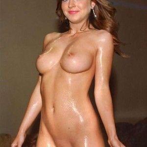 Empty saggy tits downblouse