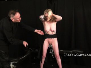 Labia torture with weights
