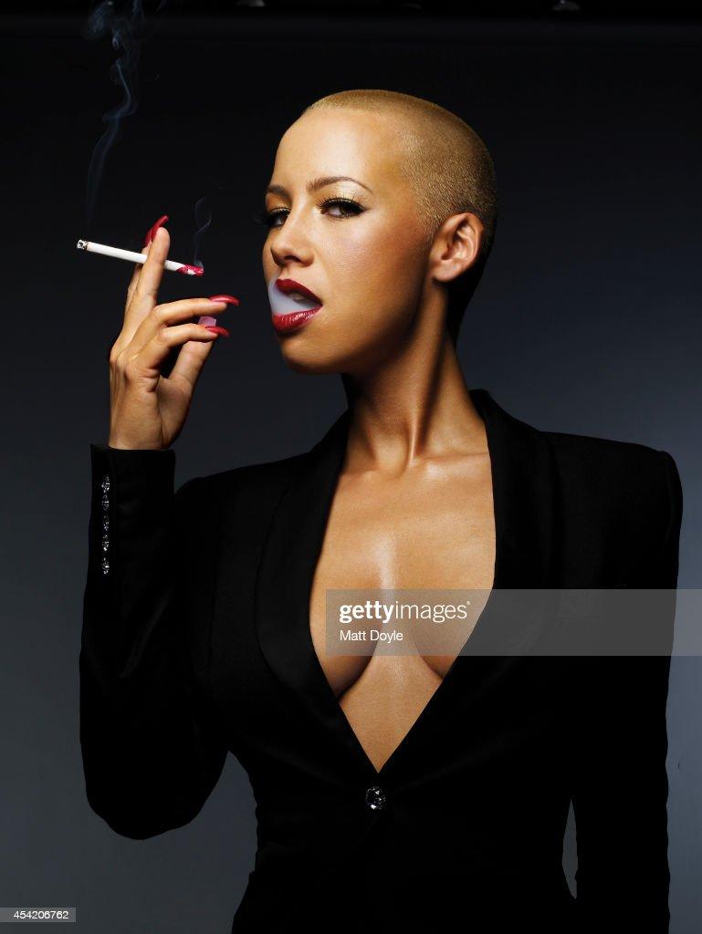 Lynn smoking cigarette bach amber