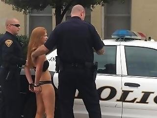 Woman arrested handcuffed porn
