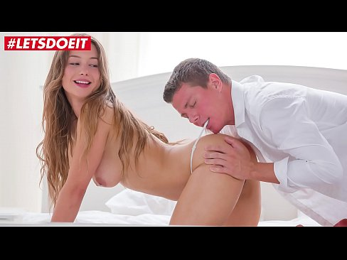 Romantic couple morning sex