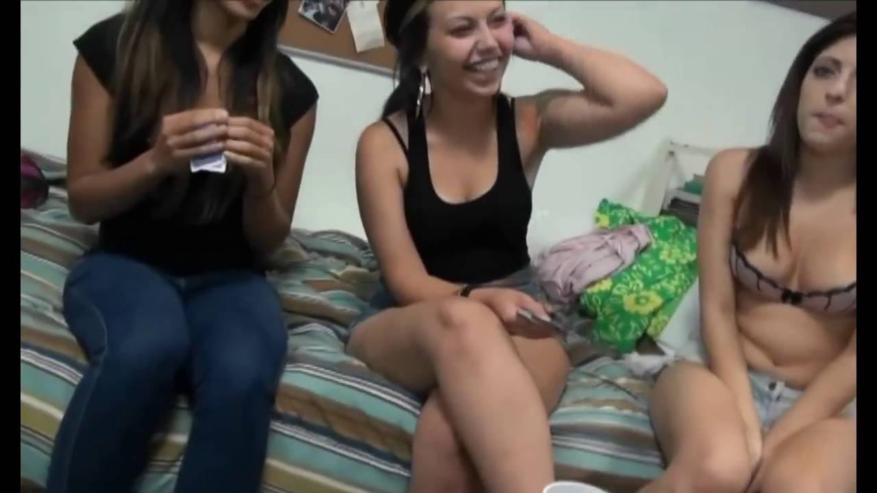College girl strip poker